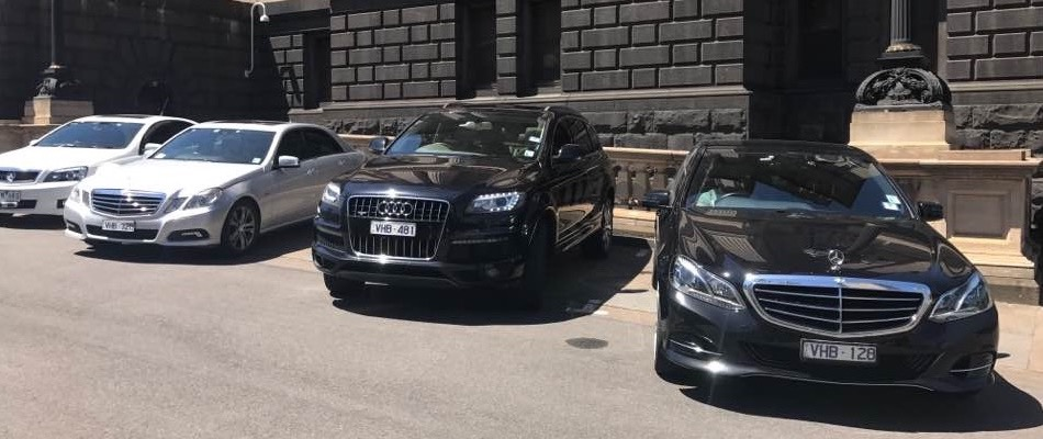 Chauffeur cars at Conference in Melbourne city