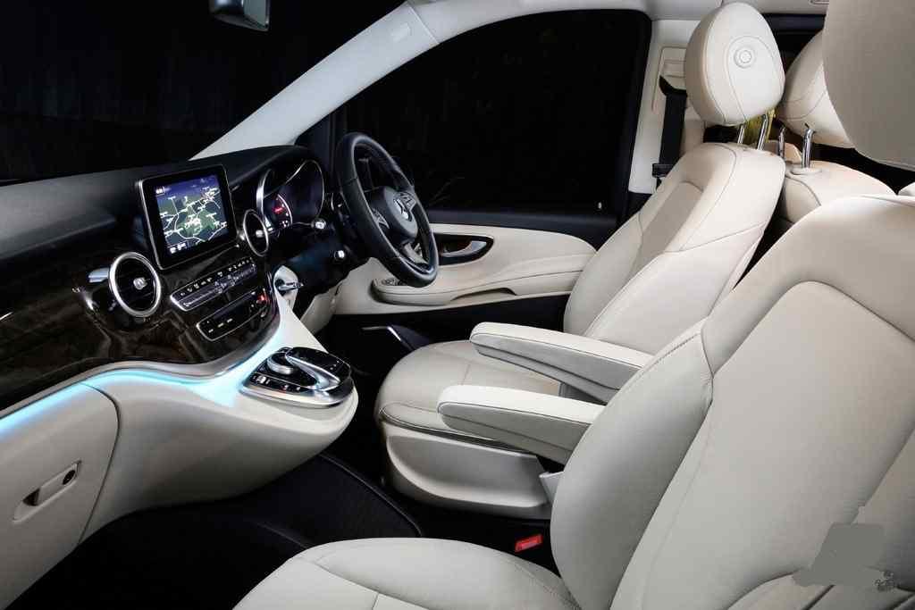 Luxury Chauffeur Van Melbourne Mercedes V class