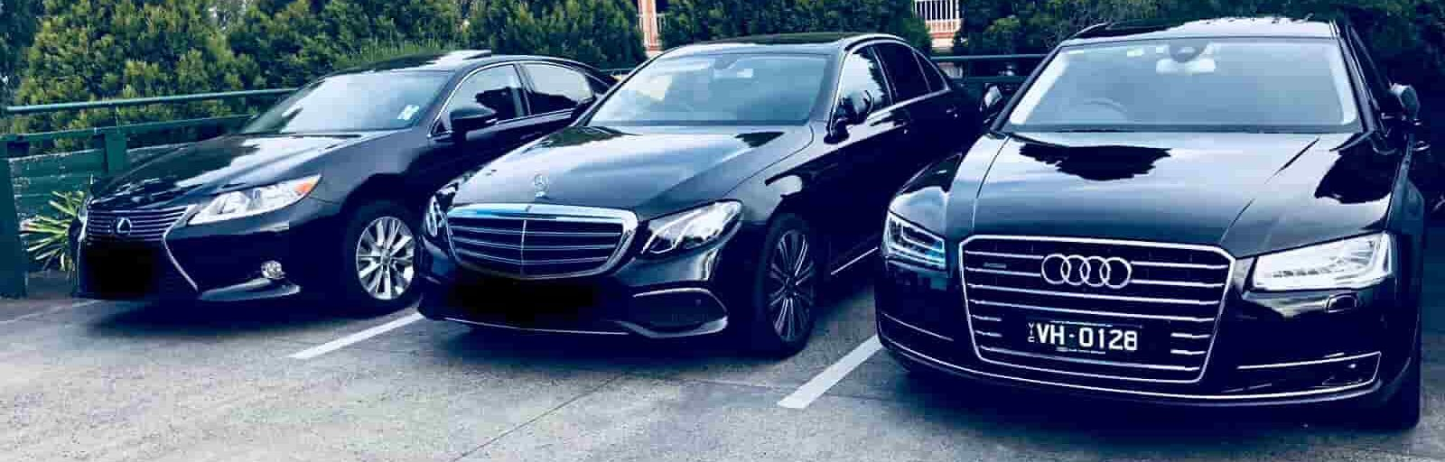luxury airport transfer Melbourne CHAUFFEUR